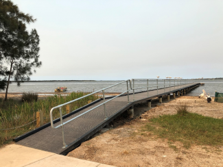 Berkeley Vale Jetty upgrade – wheel chair accessible